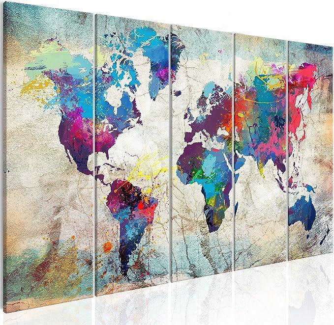 Airxcn Leinwand gedruckt Poster 5 St/ück Nettes M/ädchen zweidimensionales M/ädchen Neues Haus Geschenk 100x50cm Rahmenlos