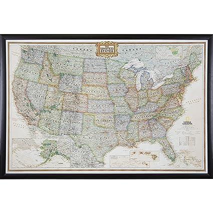 Amazon.com: Craig Frames Wayfarer, Executive United States Push Pin ...