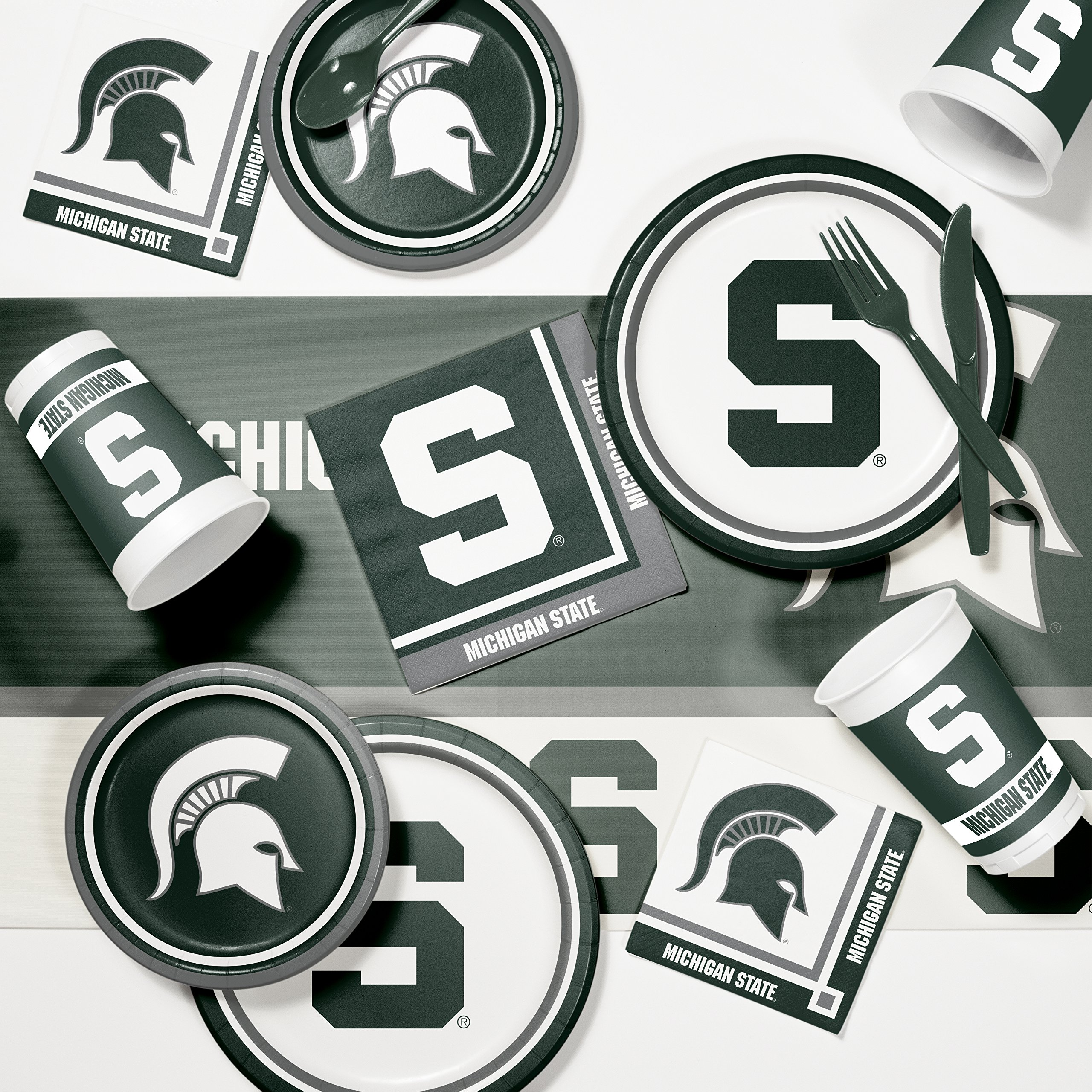 Michigan State Game Day Party Supplies Kit