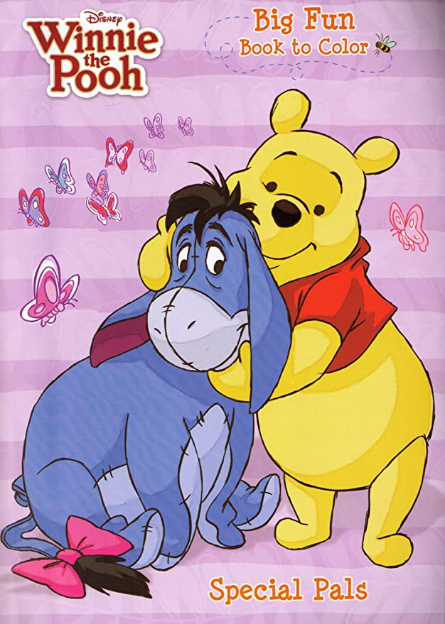 - Amazon.com: 4pk Disney's Winnie The Pooh Coloring Book 96 Page Each -  Assorted: Office Products