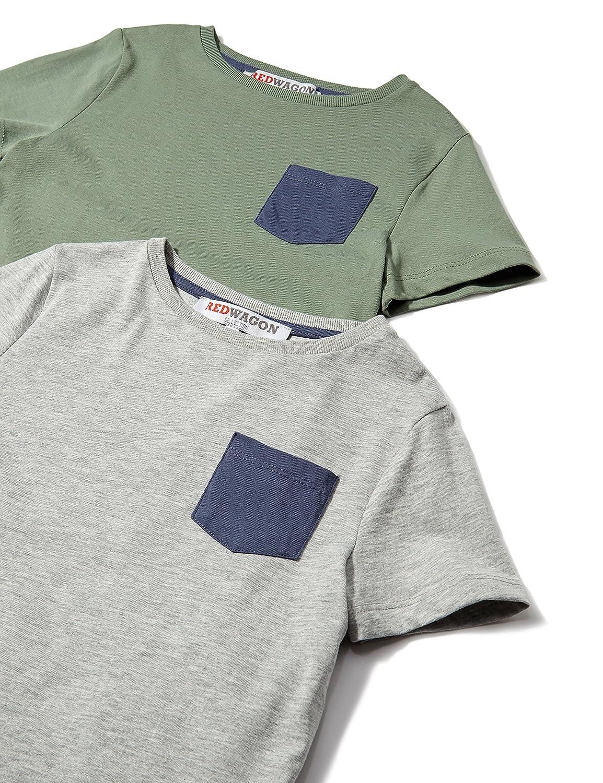 RED WAGON Jungen T-Shirt im 2er Pack 7650