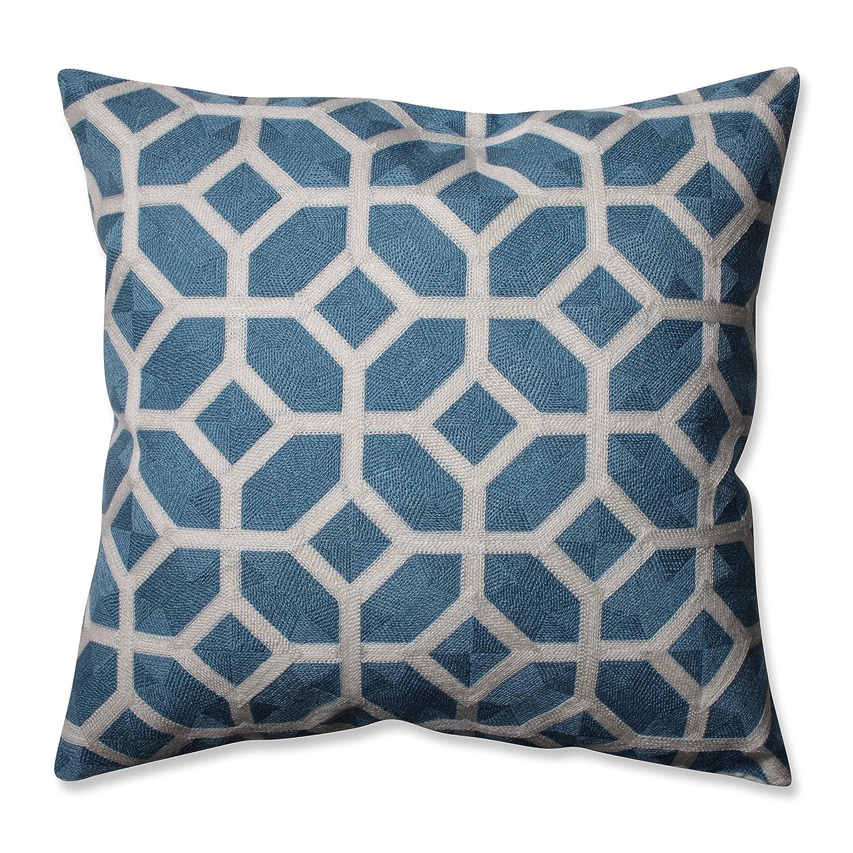 16.5 Pillow Perfect Eight Cerulean Throw Pillow