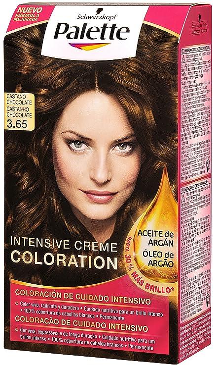 Palette Intense Color Cream 3.65 Castaño Chocolate - 115 ml