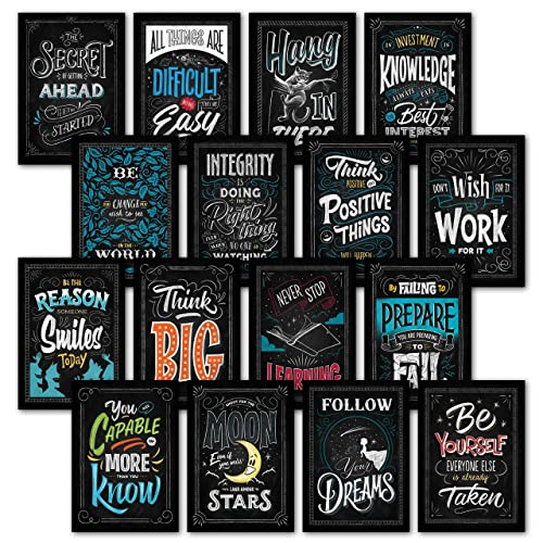 Best Motivational Quotes For Students: Growth Mindset Posters: Amazon.com