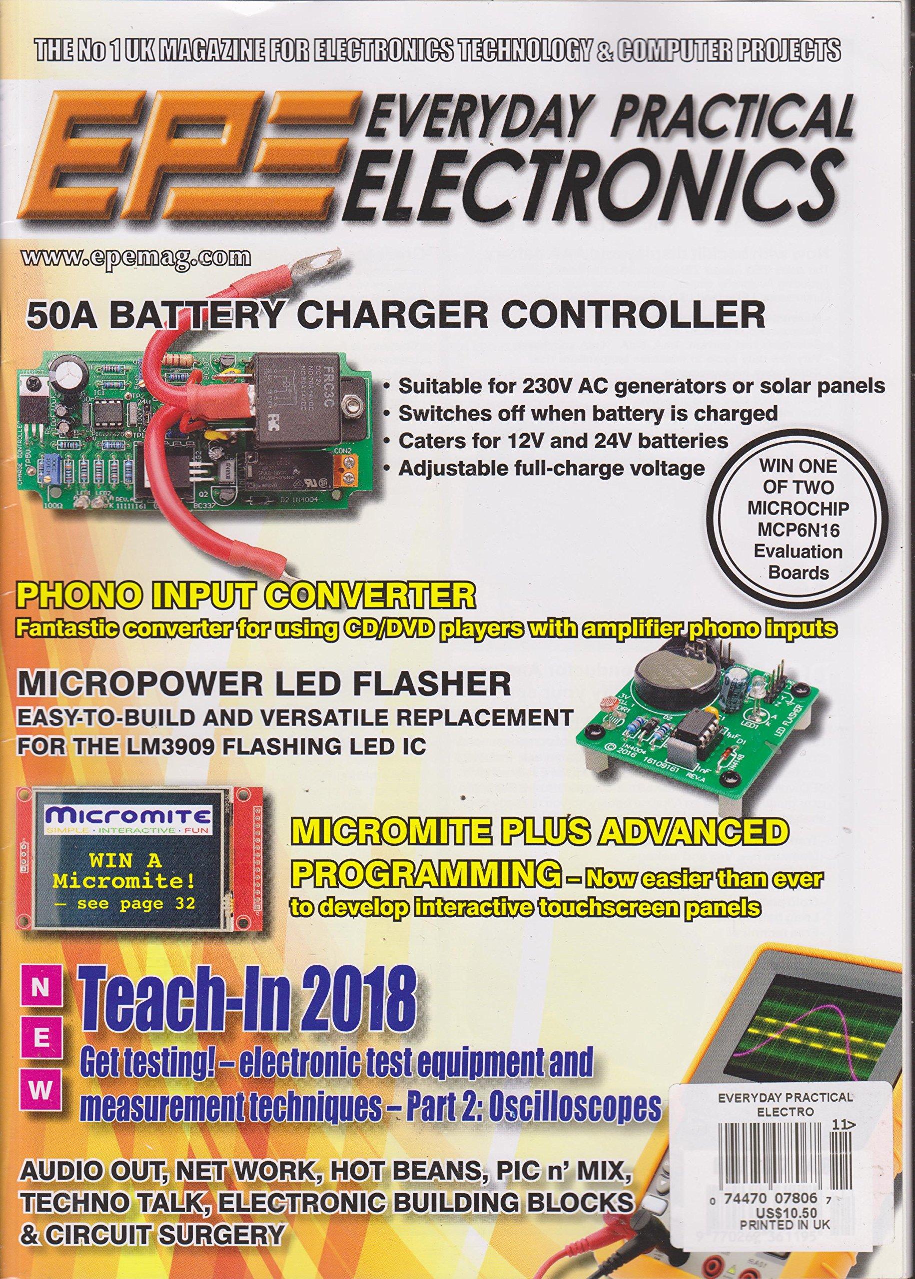 Everyday Practical Electronics Magazine November 2017: Various