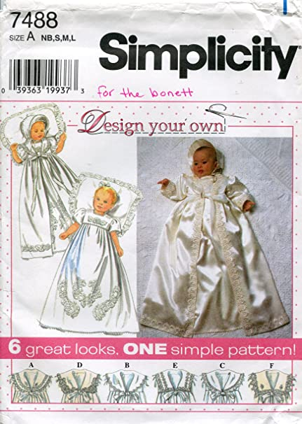 Pattern Christening Gown Patterns From Wedding Dress Www