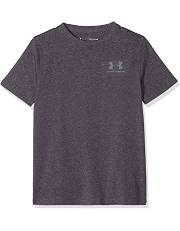 5b40b6bc6d Under Armour Boys' Eu Cotton Short-Sleeve Shirt