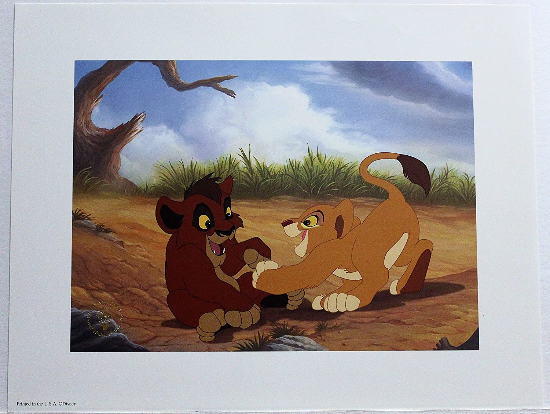 Amazoncom Disney Lithograph Art Print 11 X 14 The Lion