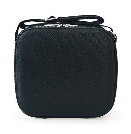 IRIS Cubic - Bolsa térmica, Porta Alimentos, Tela, Color Negro