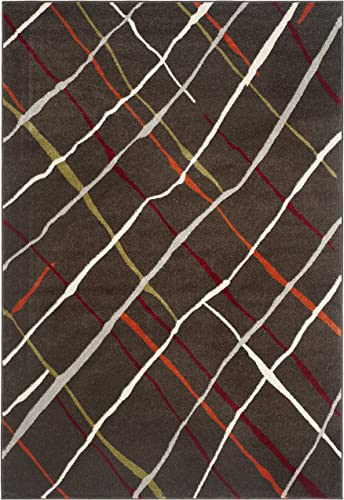 Safavieh Porcello Collection PRL4816B Brown and Multi Area Rug 8 x 11 2