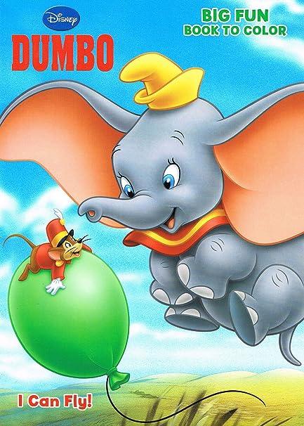Amazon.com: Disney\'s Dumbo Coloring Book \