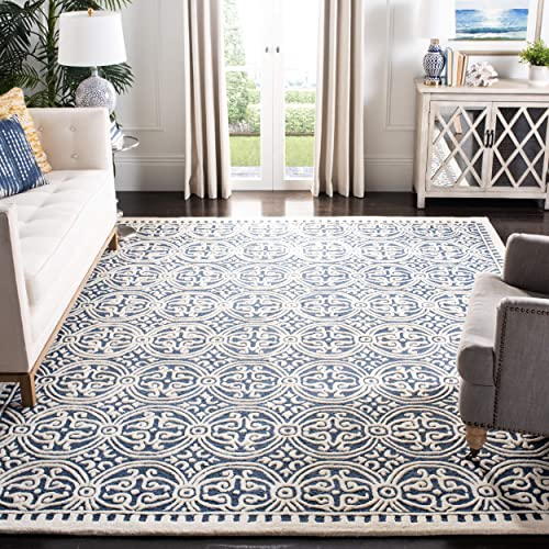 Safavieh Cambridge Collection CAM123G Handmade Wool Area Rug