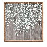 DENY Designs Iveta Abolina Coastal Raindrops Indoor/Outdoor Square Tray, Large/16 x 16