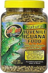 Zoo Med Laboratories Szmzm80 Iguana Juvenile Soft-Moist Pellets, 10-Ounce