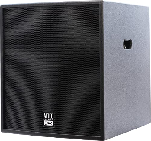 Altec Lansing ALX-S15P Extreme Performance 15 Powered Front Firing Professional 1200W Power Peak Stage Subwoofer