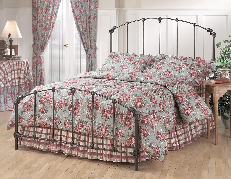 Amazon.com: Hillsdale Furniture 346BQR Bonita Bed Set With Rails, Queen,  Copper Mist: Kitchen U0026 Dining