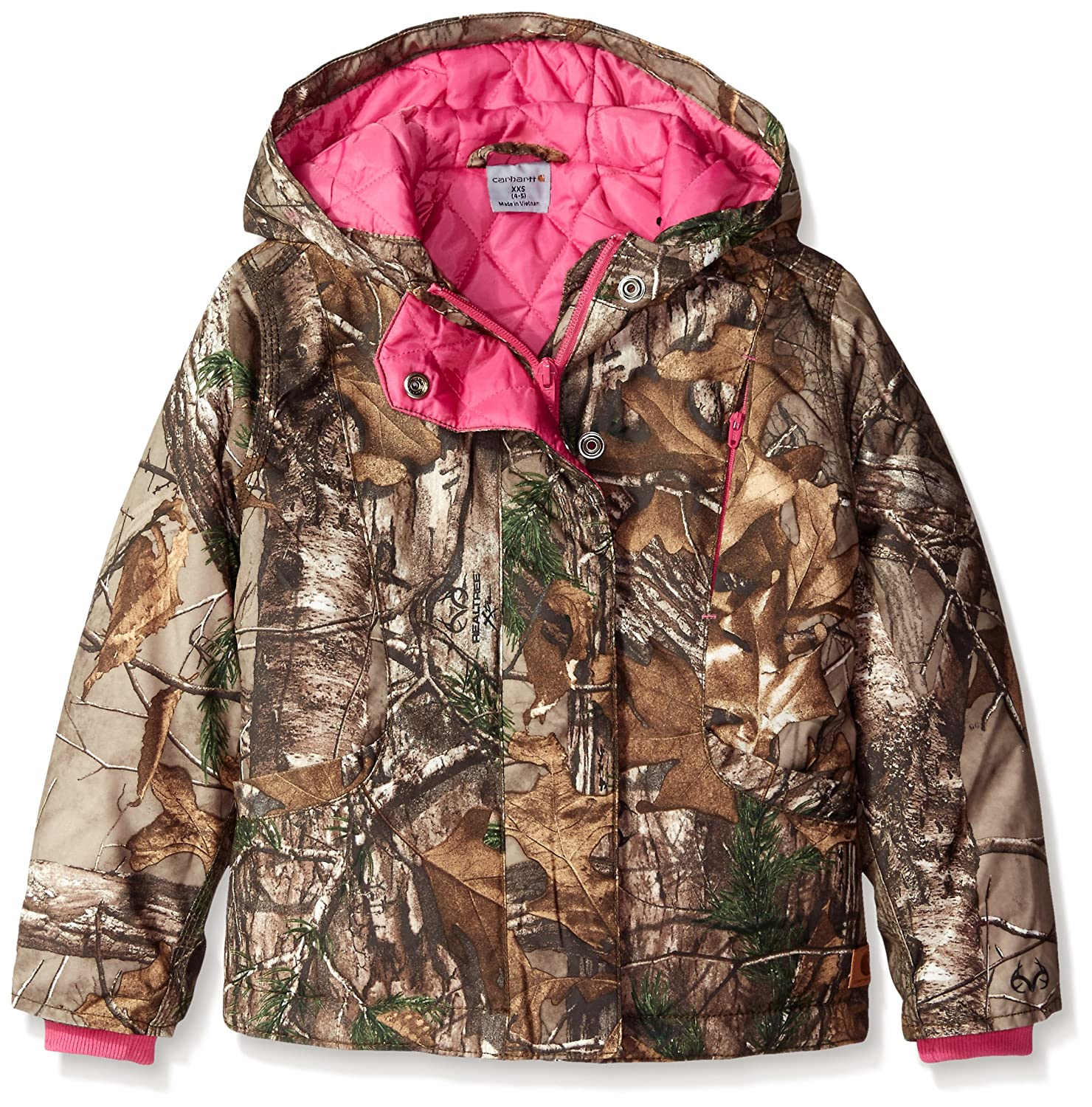 Carhartt Little Girls' Camo Mountain View Jacket Carhartt Girls 2-6x CP9500