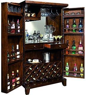 Amazon.com: Howard Miller 690-000 Piedmont Corner Wine Cabinet ...