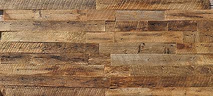 Amazon east coast rustic diy brown 35 natural reclaimed wood east coast rustic diy brown 35quot natural reclaimed wood wall covering 20 square feet solutioingenieria Images