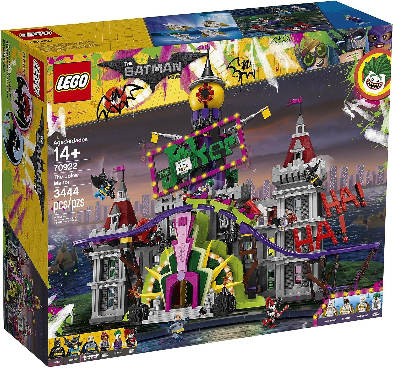 The LEGO Batman Movie 70922 The Joker Manor Juguete