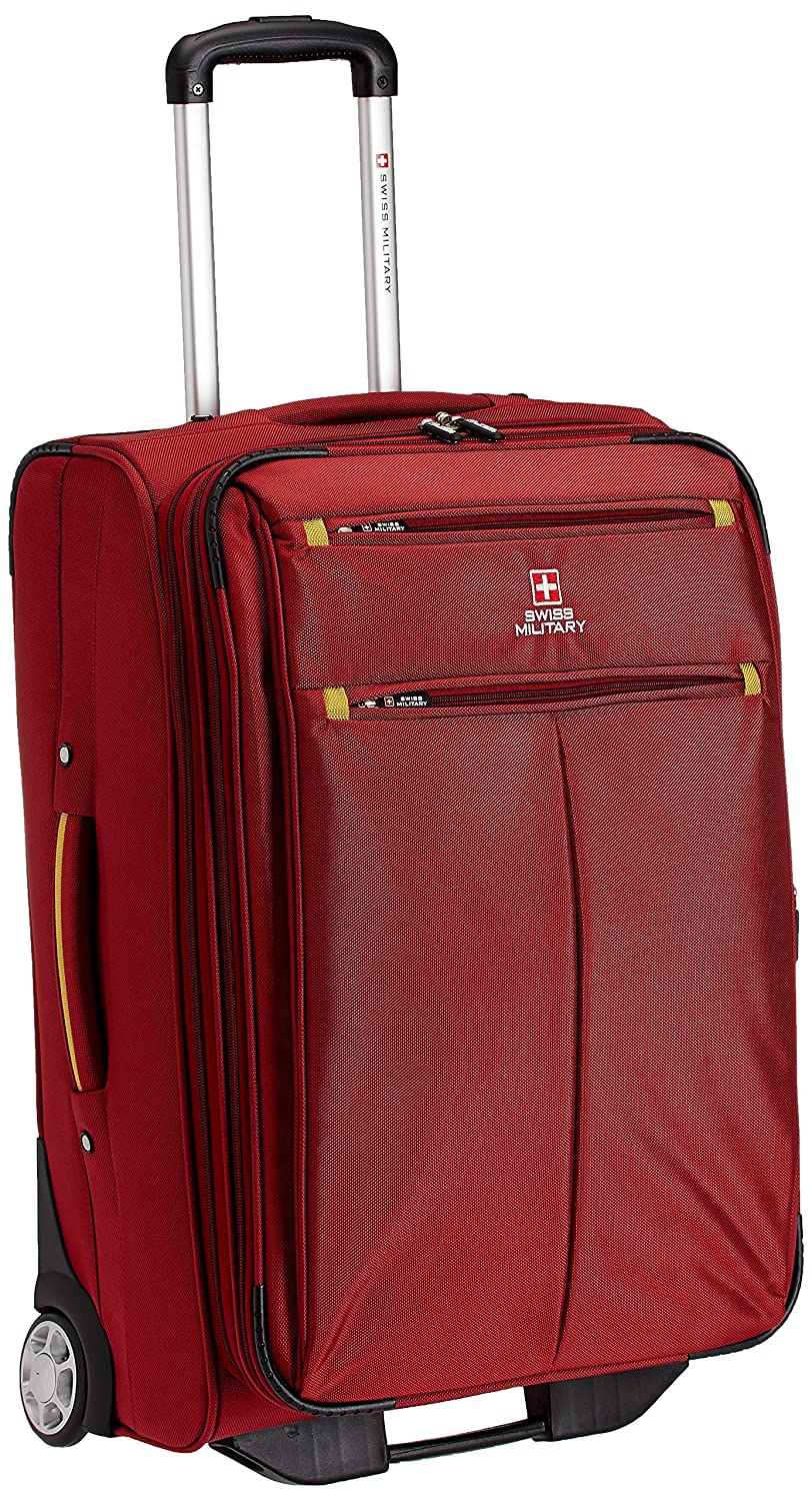 Swiss Military Polyester 53 liters Red Trolley Suitcase (TL-1)