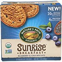 Natures Path Bars Breakfast Blueberry Chia, 7 oz