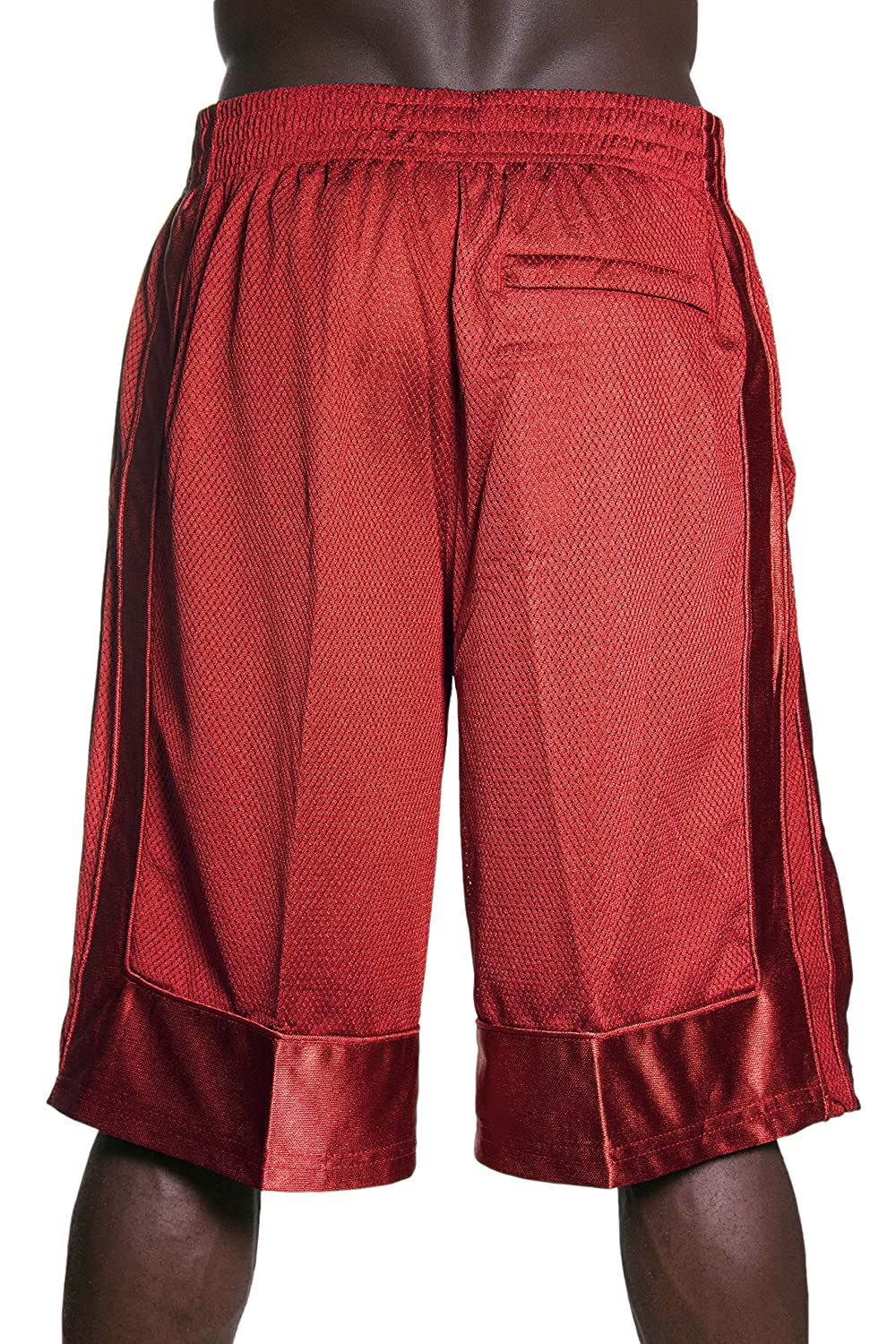 Hat and Beyond Mens Heavyweight Mesh Shorts Athletic Fitness Gym Sports Workout Basketball S-5XL