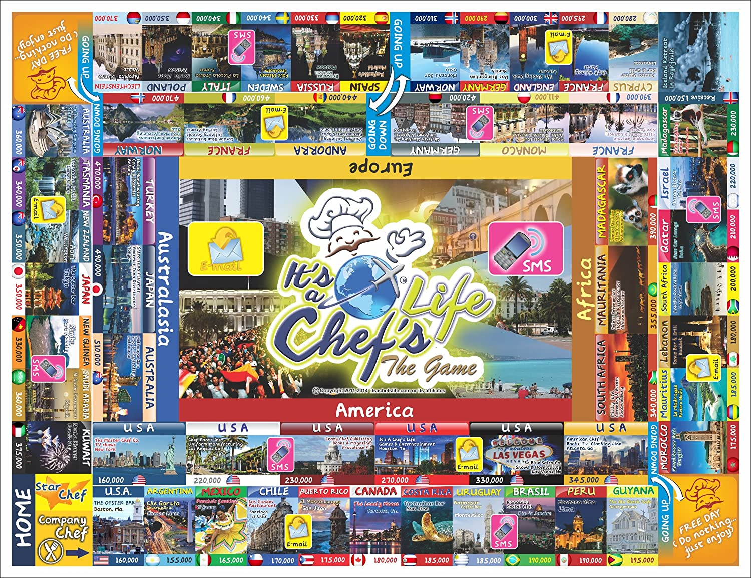 mejor opcion It's It's It's a Chef's Life Family Board Game Family Friendly Kids 7+chefs Fun by Cheflife  70% de descuento