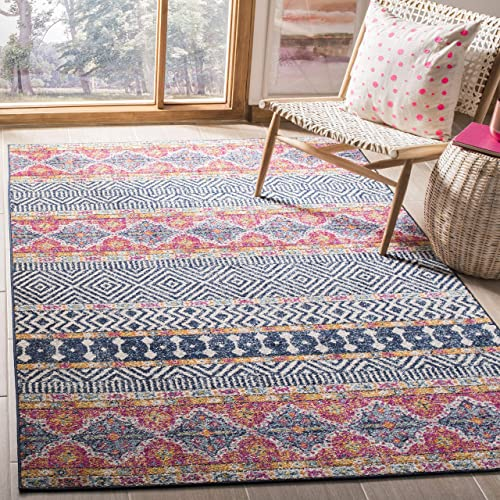 Koeckritz Oval 3 X5 Masonry Indoor Cut and Loop Area Rug Carpet Many Sizes and Shapes with Premium Fabric Finished Edges