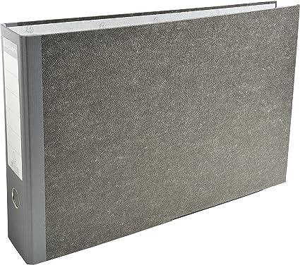 Exacompta 53810E - Carpeta (Carpeta convencional, A3, Caja de cartón, Gris, 320 mm, 480 mm): Amazon.es: Oficina y papelería