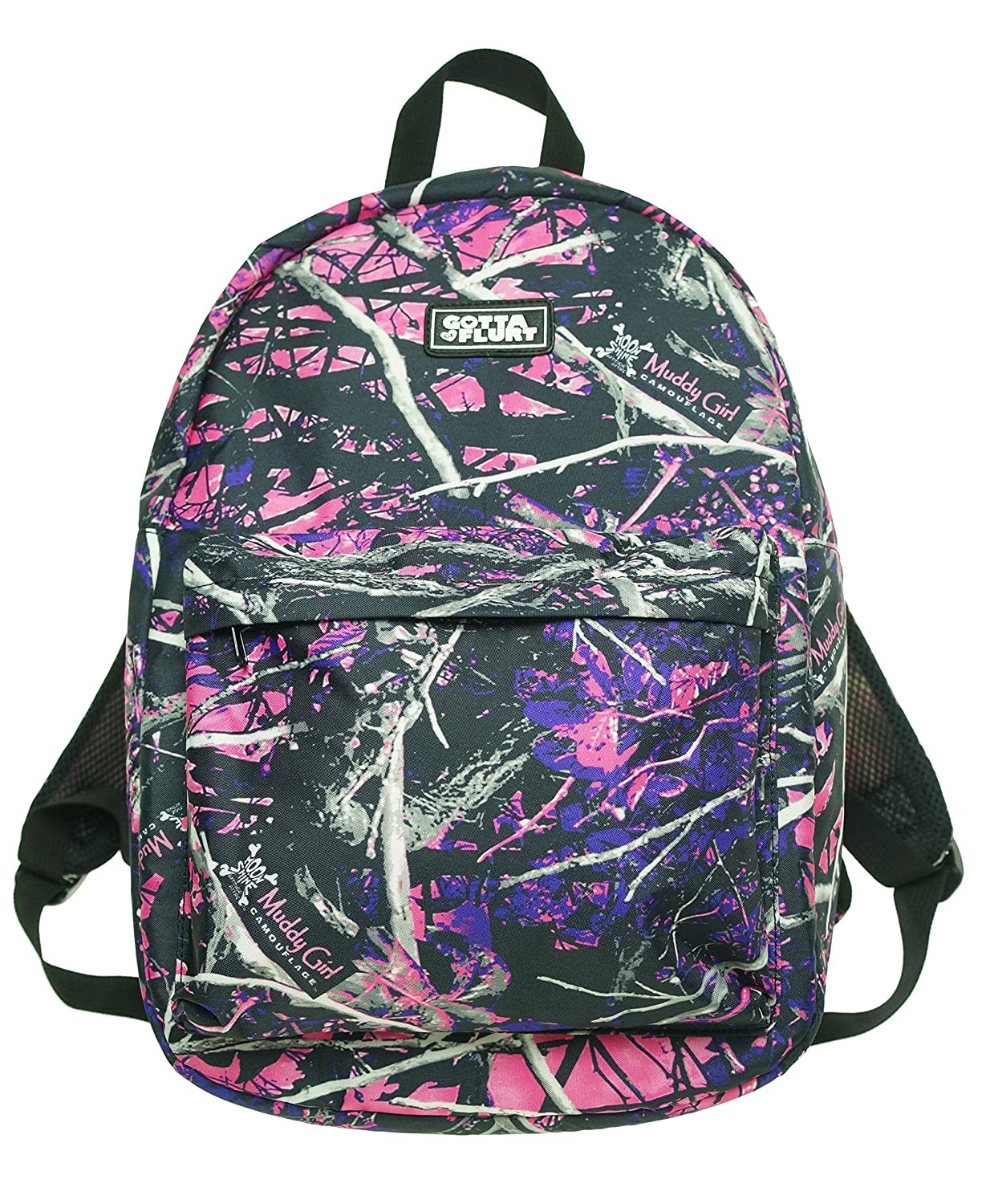 Amazon.com | Muddy Girl Pink Purple Camo Exclusive Backpack ...
