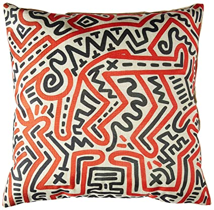 amazon com aobo modern keith haring creative abstract curve