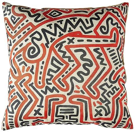 Amazon.com: Simple curva de Keith Haring Creative abstracto ...