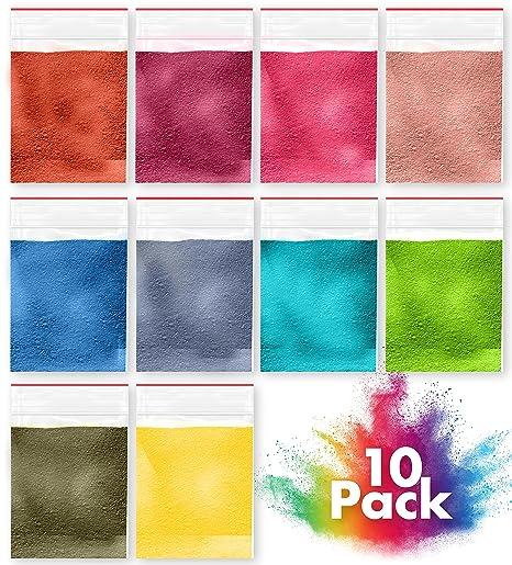 Creative Lily - Juego de 10 fragancias y colores únicos para niños y adultos – uso