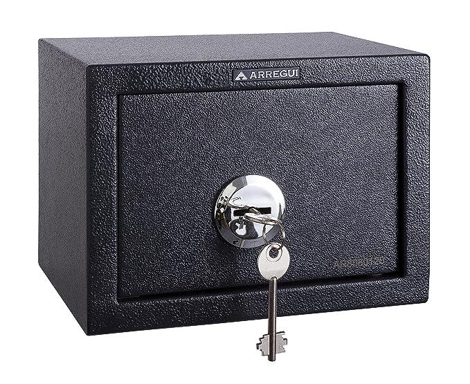 Arregui T17K Caja Fuerte de sobreponer sólo Llave.230x170x170mm Gris Oscuro 230 x 170 x 170 mm: Amazon.es: Bricolaje y herramientas