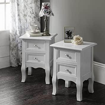 Windsor Bedside Tables Nightstands Fully Assembled 34 5cm x