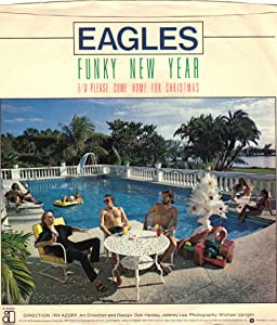 EAGLES/Please Come Home For Christmas/45rpm record + picture sleeve