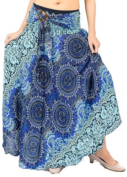 Women S Long Hippie Bohemian Skirt Gypsy Dress Boho Clothes With