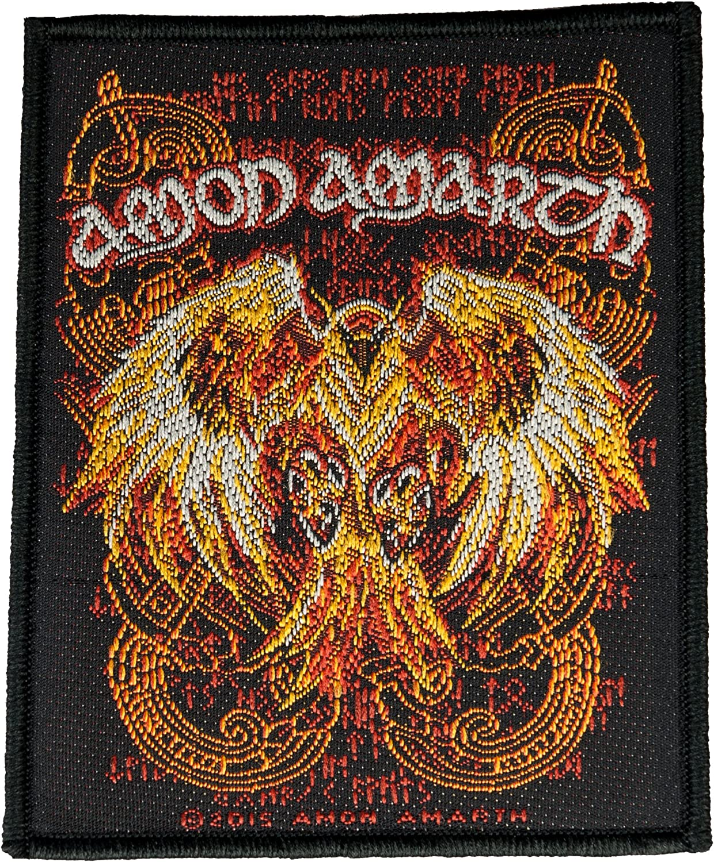 ! Amon Amarth Burning Eagle tejido, con licencia Parche para coser