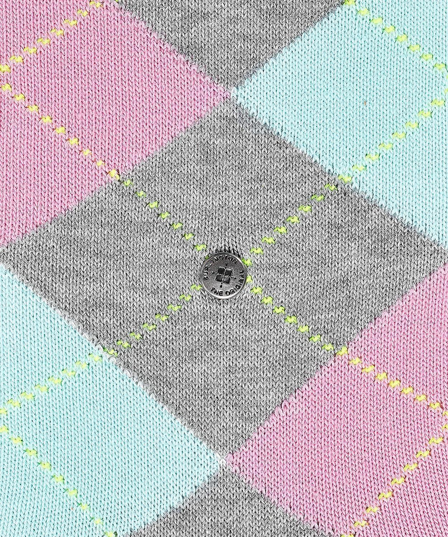 Blau Gr/ö/ße: 36-41 Baumwollmischung 1 Paar BURLINGTON Damen Socken Queen