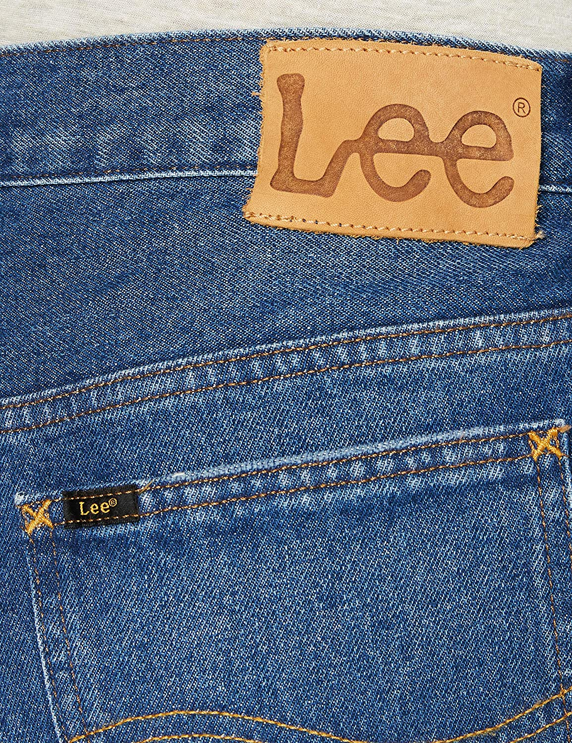 Lee Men's Rider' Jeans Blue (Trashed Lax Yb)