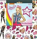 JoJo Siwa Stickers Party Favors - Bundle of 12 Sheets 240+ Stickers