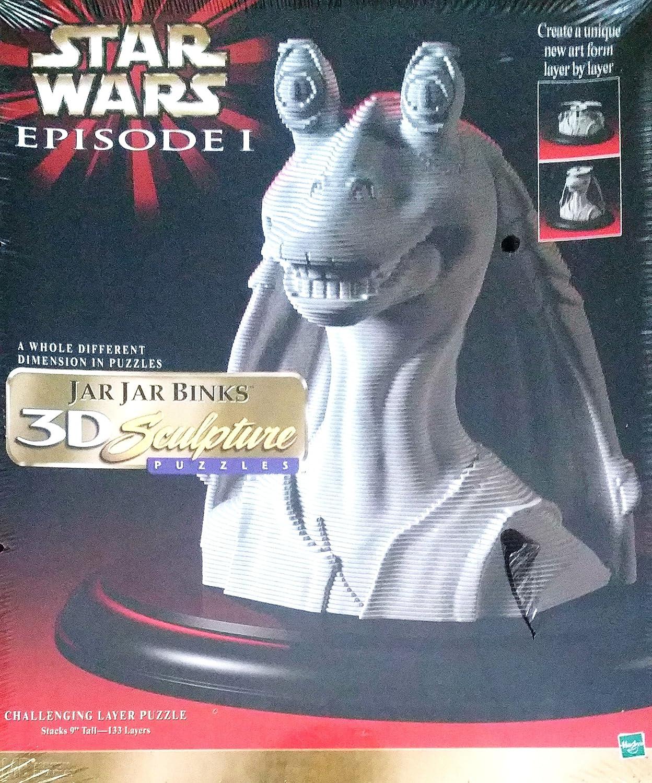 正規激安 Star Wars Jar Jar Jar Binks Jar 3D Wars Sculpture Puzzle B001KPVXBY, ニシビワジマチョウ:887589b7 --- quiltersinfo.yarnslave.com