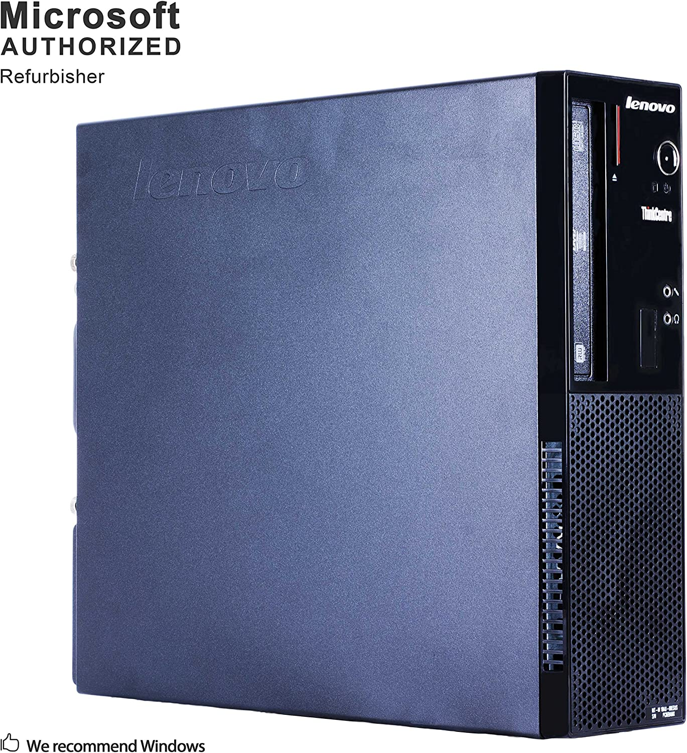Lenovo ThinkCentre E73 Small Form Factor Desktop PC, Intel Quad Core i5 4570 up to 3.6GHz, 16G DDR3, 1T, WiFi, BT 4.0, DVD, Windows 10 64-Multi-Language Support English/Spanish/French(Renewed)