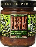 Desert Pepper, Black Bean, Roasted Pepper, and Corn Salsa, 16 oz