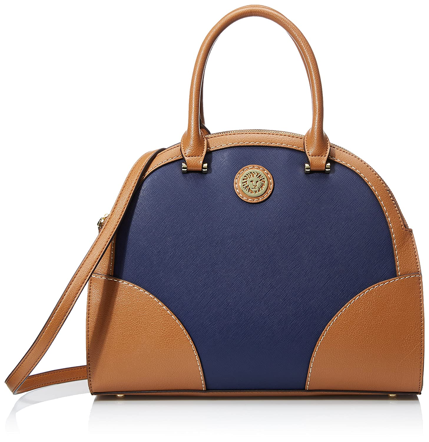 Anne Klein A Stitch In Time Large Dome Satchel