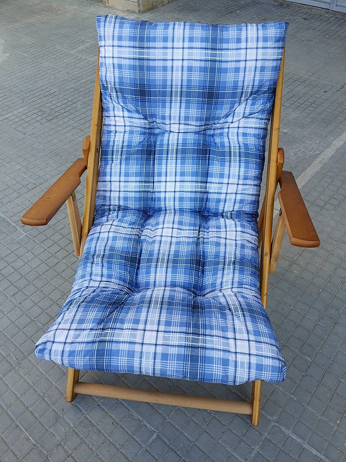 Spare Cushions Filled Cushion for Lounger Chair Relax Ripstop Fabric... No brand