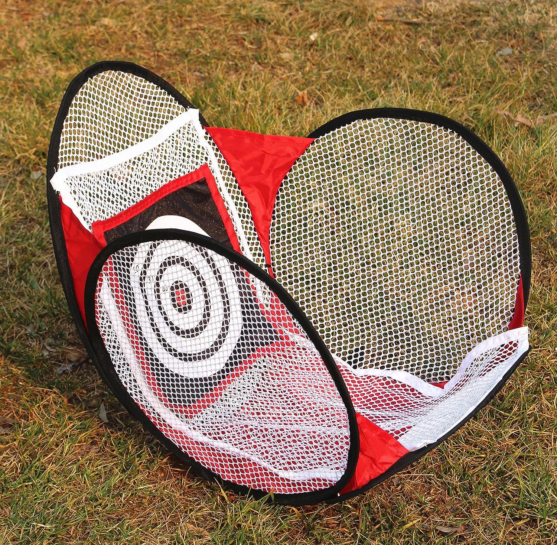 ゴルフNet with Target Net Pop Up Golf Chipping Net |アウトドアインドアGolfingターゲットビデ、裏庭練習スイングゲーム   B078J2ZMG9