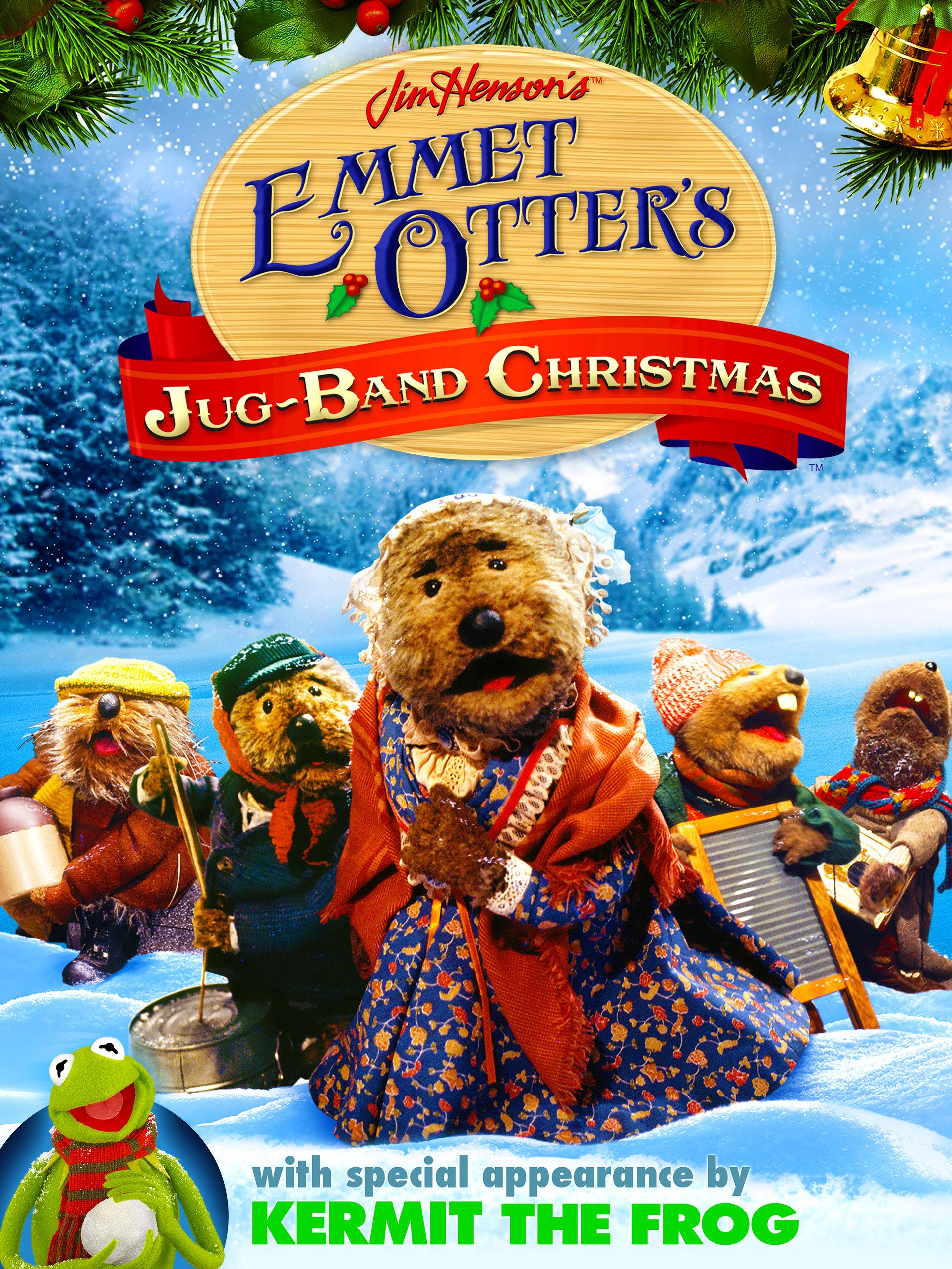 Amazon.com: Emmet Otter\'s Jug-Band Christmas: Jerry Nelson, Frank Oz ...