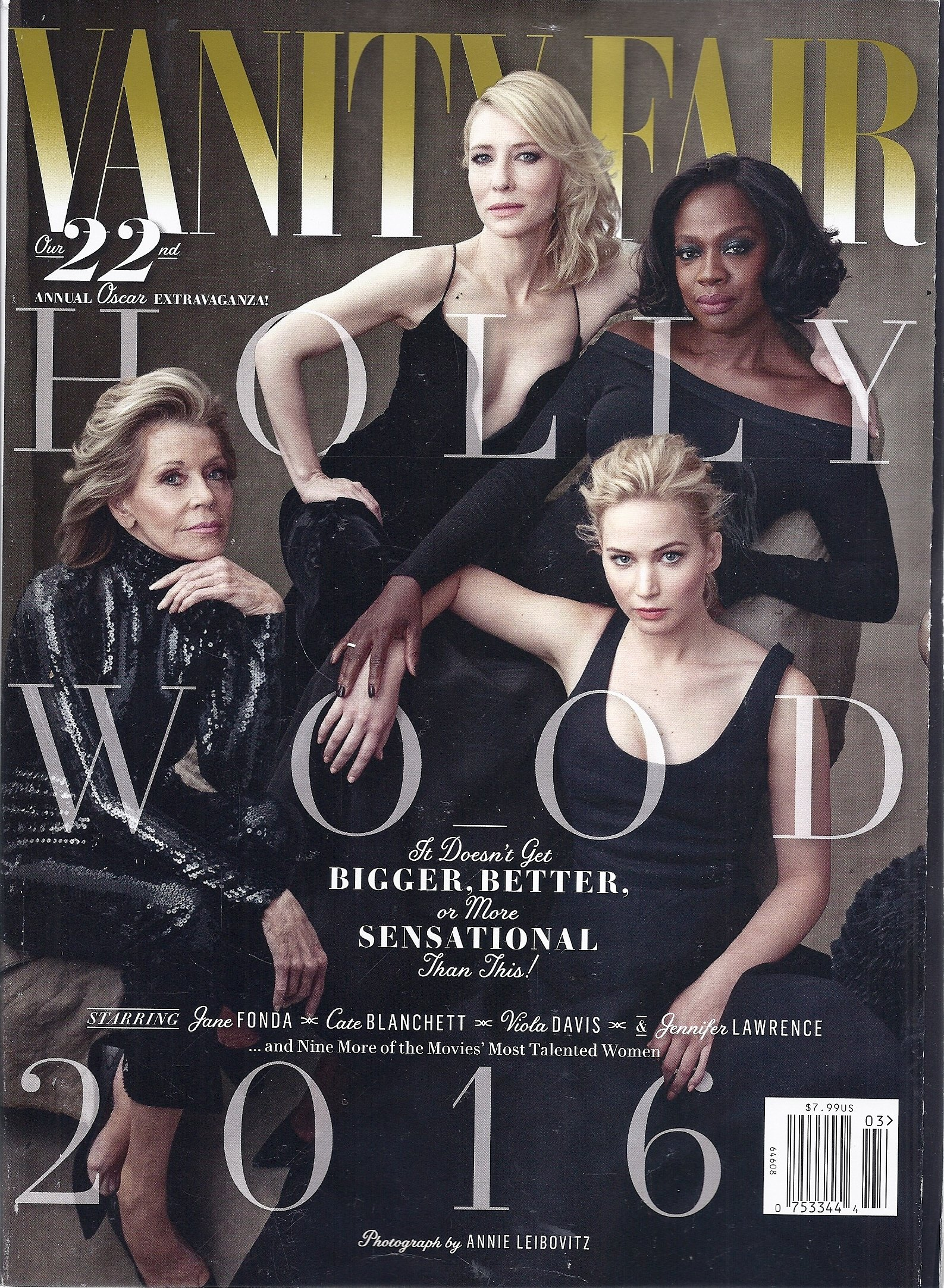 Read Online Vanity Fair Magazine Hollywood Issue, 2016 pdf